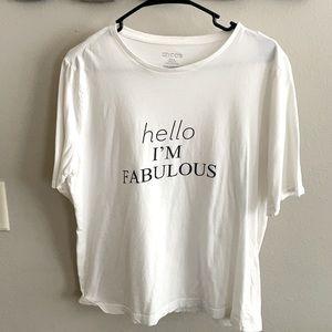 Hello I'm fabulous T-shirt!